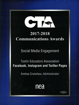 CTA CommunicationAward 2016
